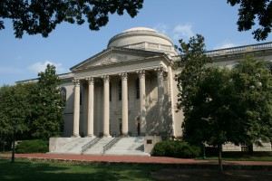 Wilson Library, one of the many notable sites on UNC's campus