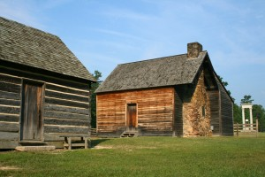 Farmhouse at historic Bennett Place site