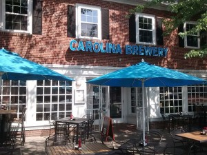 Carolina Brewery on Franklin Street in downtown Chapel Hill